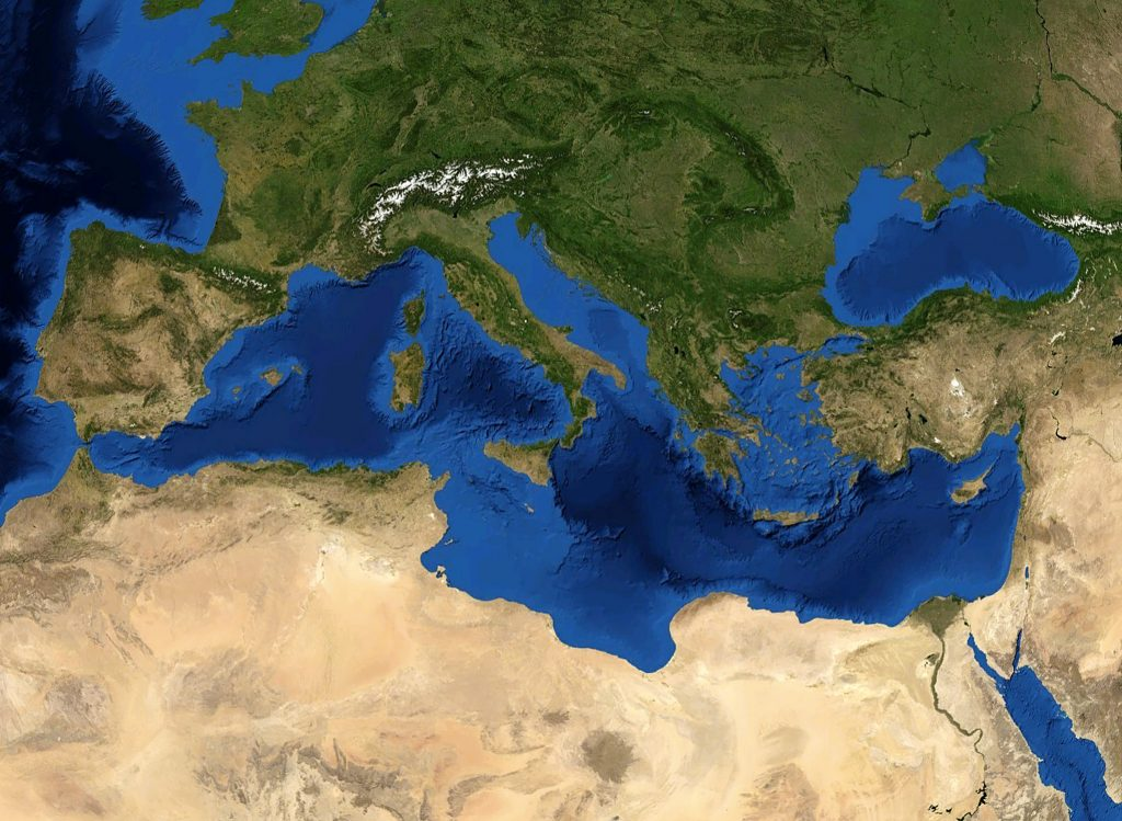 Climate and environmental change in the Mediterranean – main ...