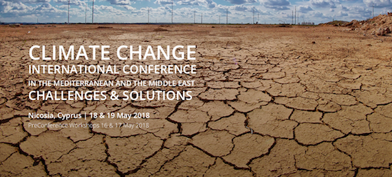 """Read more about the article """"Climate Change in the Mediterranean and the Middle East…"""", Nicosia, Cyprus"""