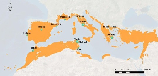 Read more about the article Impacts of urbanization around Mediterranean cities (scientific paper)