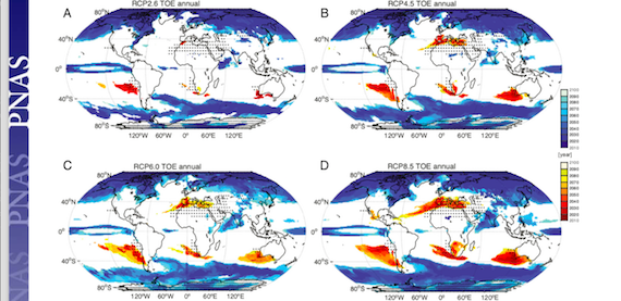 Robust precipitation changes across crop production areas in the 21st cent. (article)