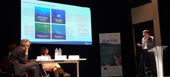 Read more about the article BLUEMED Med. Research Infrastructures Stakeholders Conf., Paris, 13-14 June 2019
