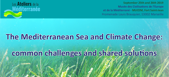 Mediterranean Sea and Climate Change workshop, 25-26 September 2019, Marseille