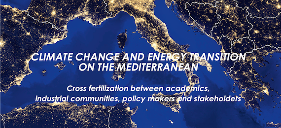 "Workshop ""Climate change and the energy transition on the Mediterranean"", 21-22 November, Palaiseau, France"