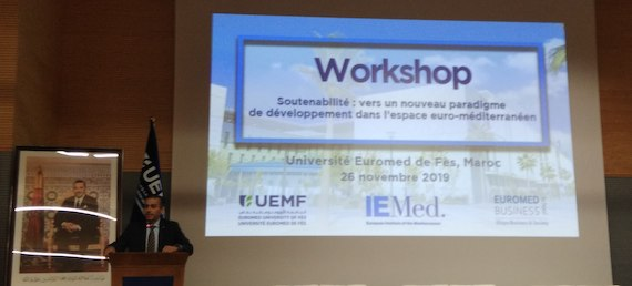 Sustainability: Towards a New Paradigm of Development in the Euro-Mediterranean Area, 26 November 2019, Fès, Morocco