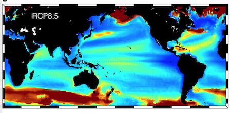 Read more about the article Ocean warming compresses the three-dimensional habitat of marine life (article)