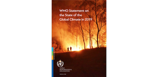 WMO Statement on the State of the Global Climate in 2019 (report)