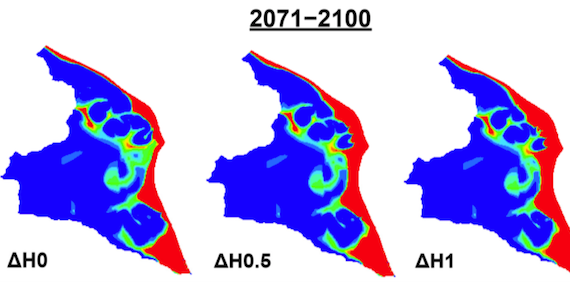 Investigating the effects of agricultural water management in a Mediterranean coastal aquifer under current and projected climate conditions (article)