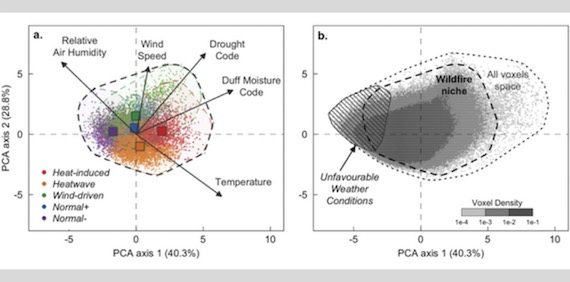 Increased likelihood of heat-induced large wildfires in the Mediterranean Basin (article)