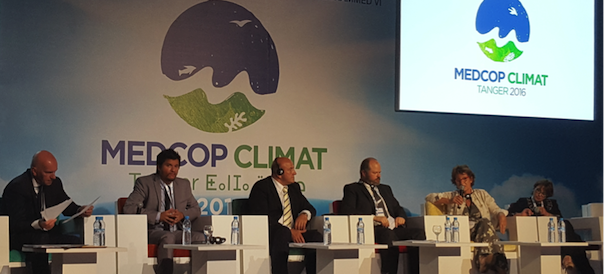 Participation of MedECC in MedCOP Climate 2016 in Tangier (Morocco), July 2016