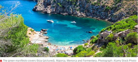 Balearics launch pioneering plan to phase out emissions (press article)