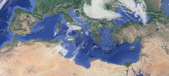 Climate change in the Mediterranean region and global warming (scientific paper)