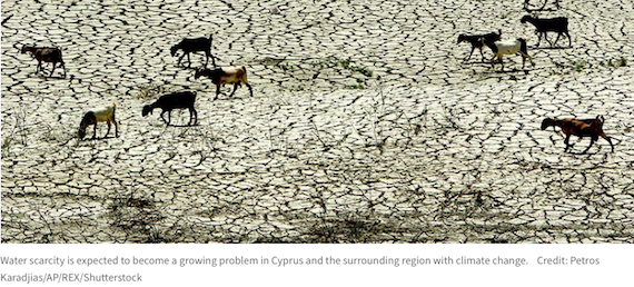 Cyprus asserts itself as regional hub for climate-change research (Nature News)