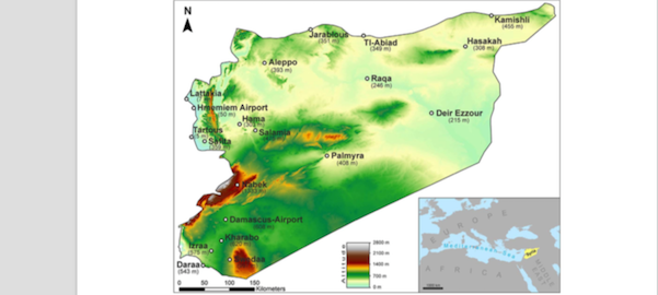 Droughts and extreme precipitation events in Eastern Mediterranean (articles)