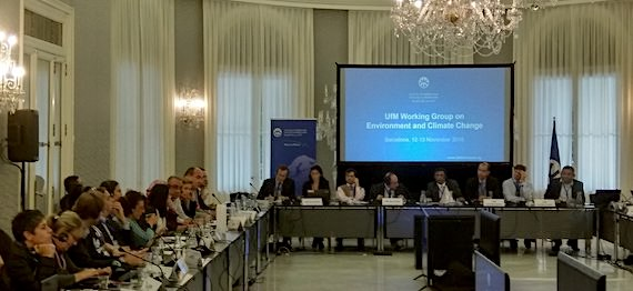 UfM Working Group on Environment and Climate Change, 12-13 November 2018