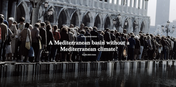 A Mediterranean basin without a Mediterranean climate? (case study)