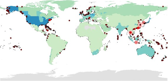 Read more about the article Global analysis of sea level rise risk to airports (article)